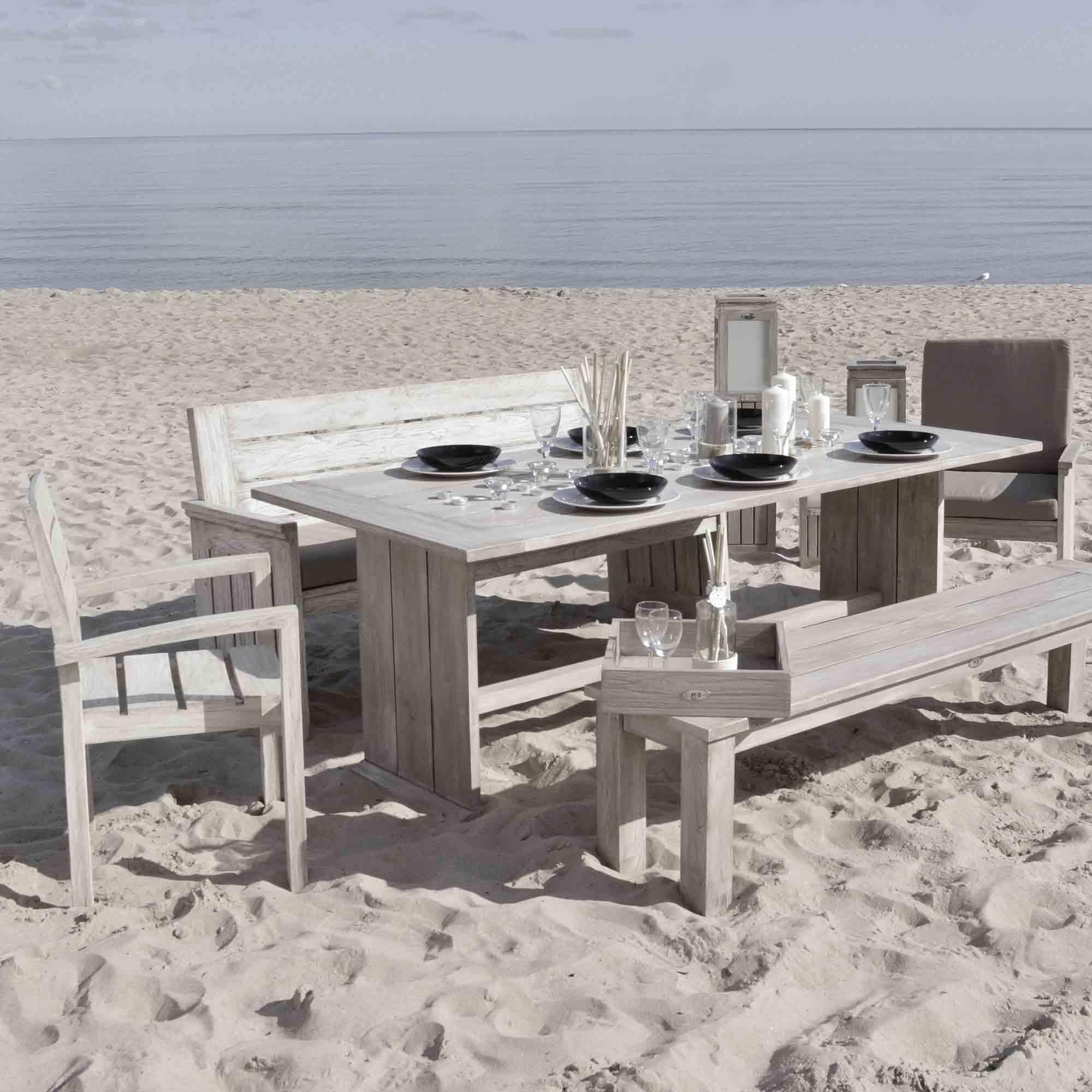 Gartenmöbel aus Holz für den Nordic Style – HolzLand Verbeek