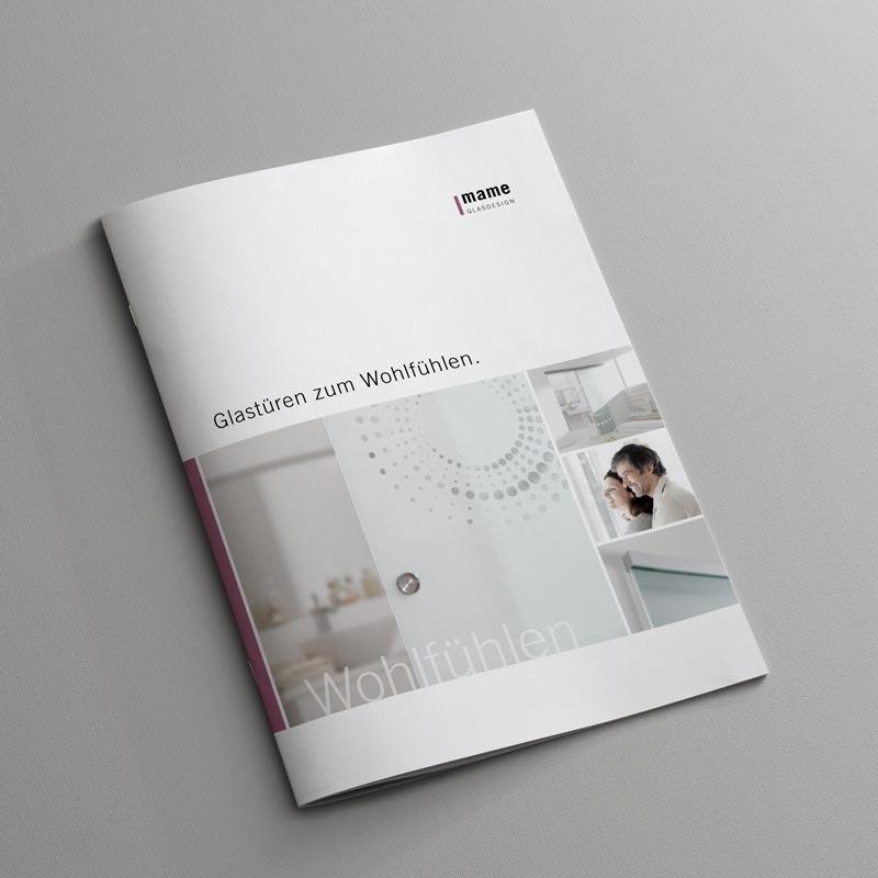 Katalog von Glastürten (mame Glasdesign) – Holzland Verbeek