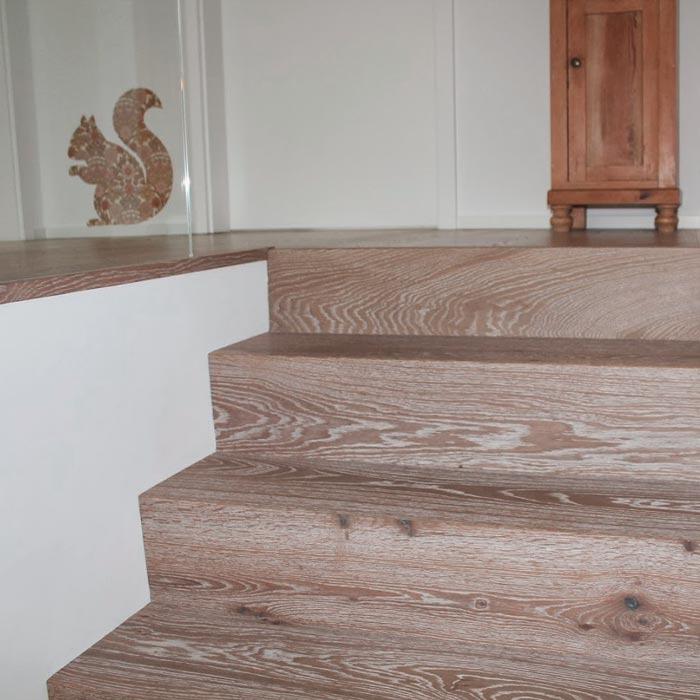 Treppenstufen aus Holz – HolzLand Verbeek