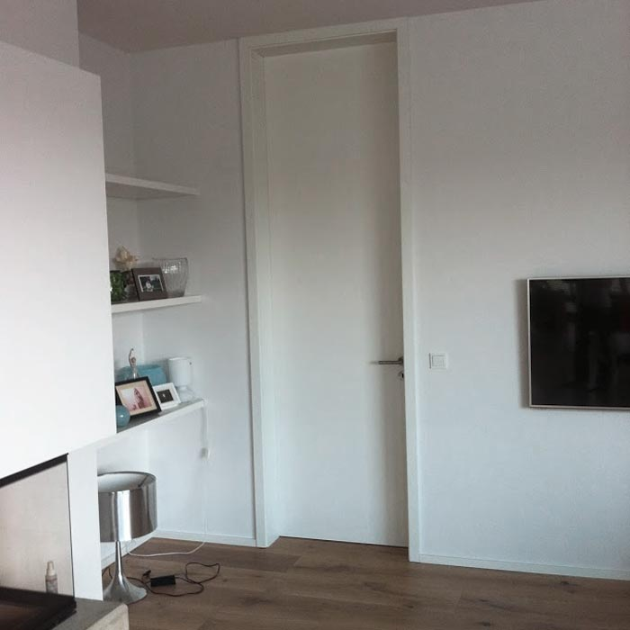 Raumhohe Weißlacktür – HolzLand Verbeek