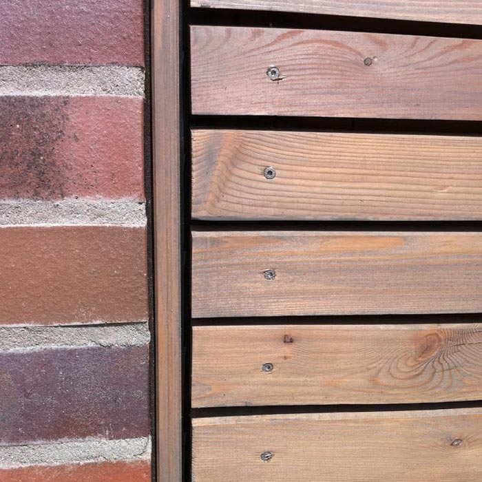 Fassade aus Lärchenholz – HolzLand Verbeek