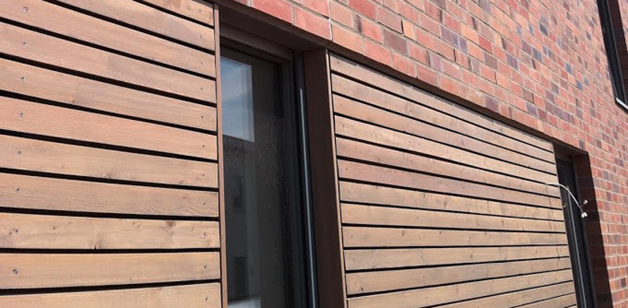 Holzfassade aus Lärche – HolzLand Verbeek