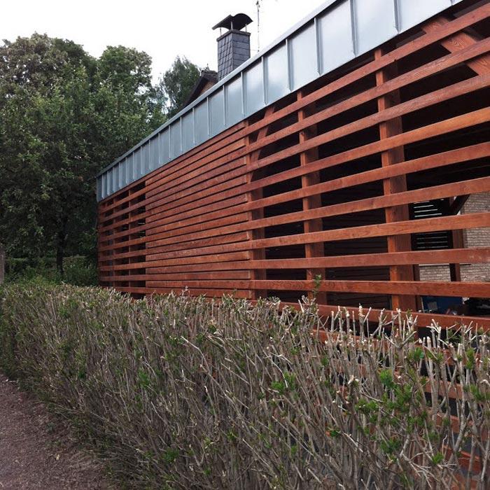 Carport aus stabilem Holz – HolzLand Verbeek
