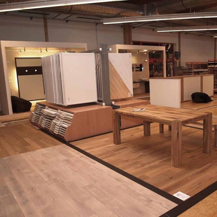 Verlegtes Parkett live erleben, anfassen und spüren in den Ausstellungen von HolzLand Verbeek