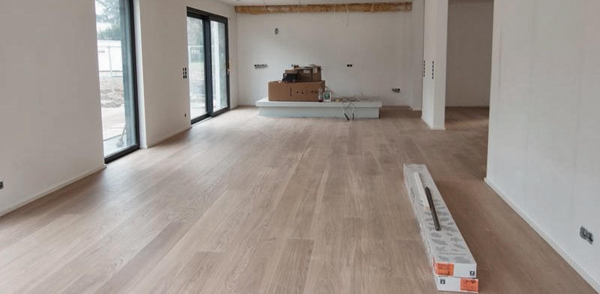 Parklett Eiche Landhausdiele weiß – HolzLand Verbeek