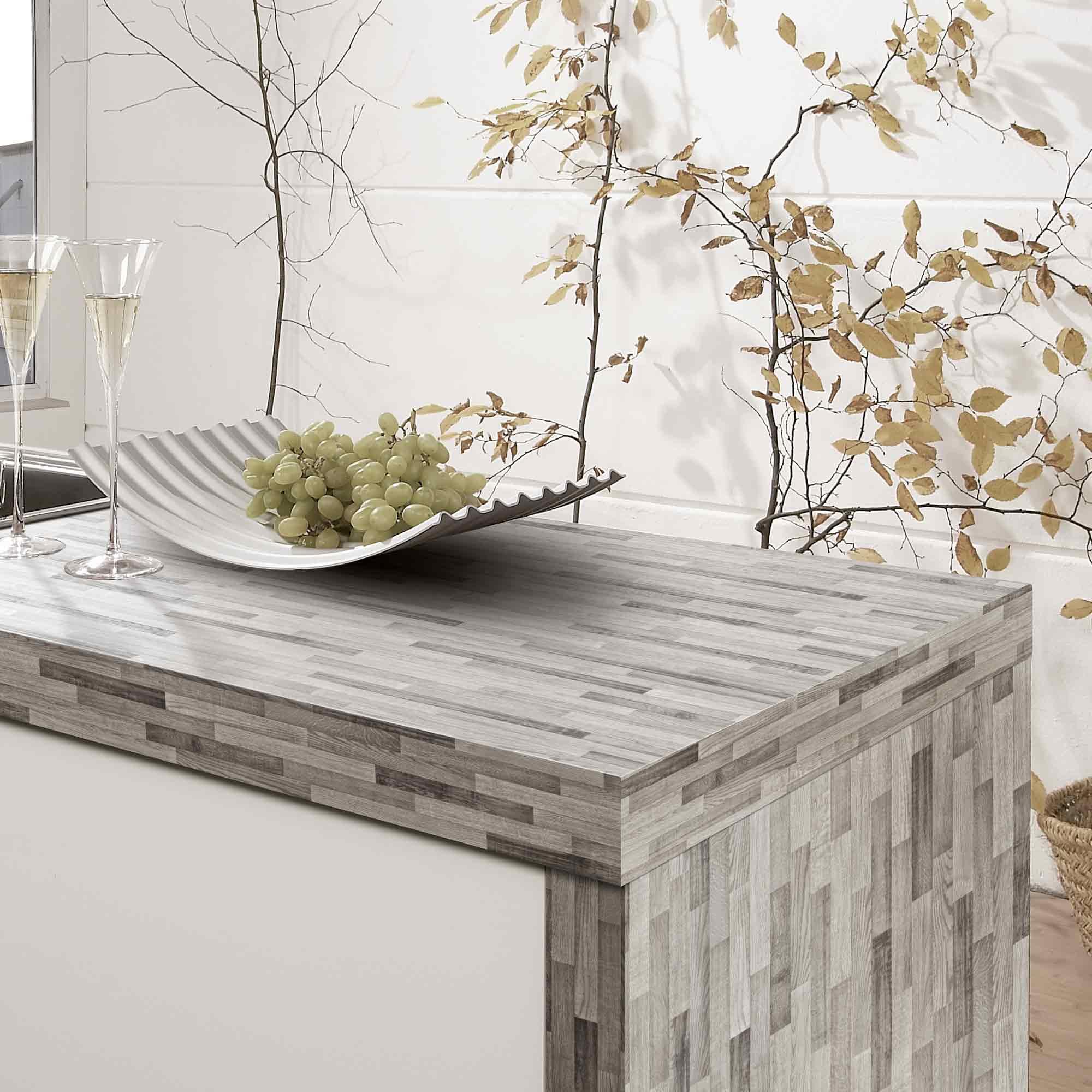 Arbeitsplatte mit Obstschale in der Küche – HolzLand Verbeek