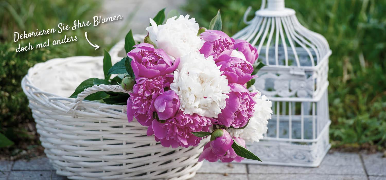 Blumendeko für Garten und Terrasse – HolzLand Verbeek