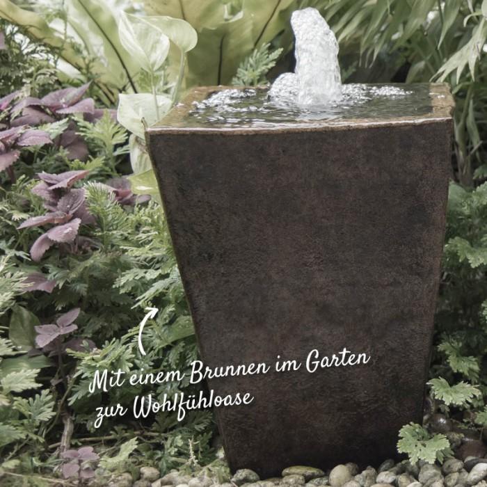 Brunnen im Garten – HolzLand Verbeek