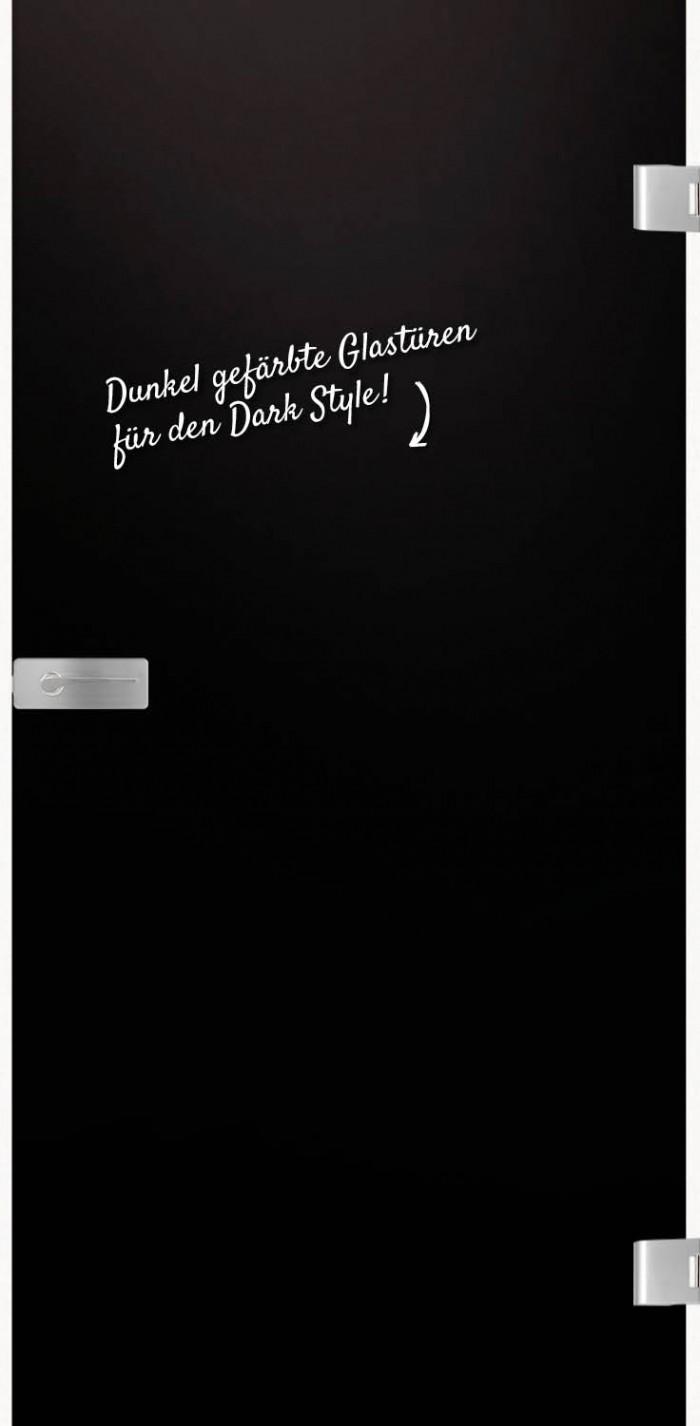 dunkle Glastür HolzLand Verbeek
