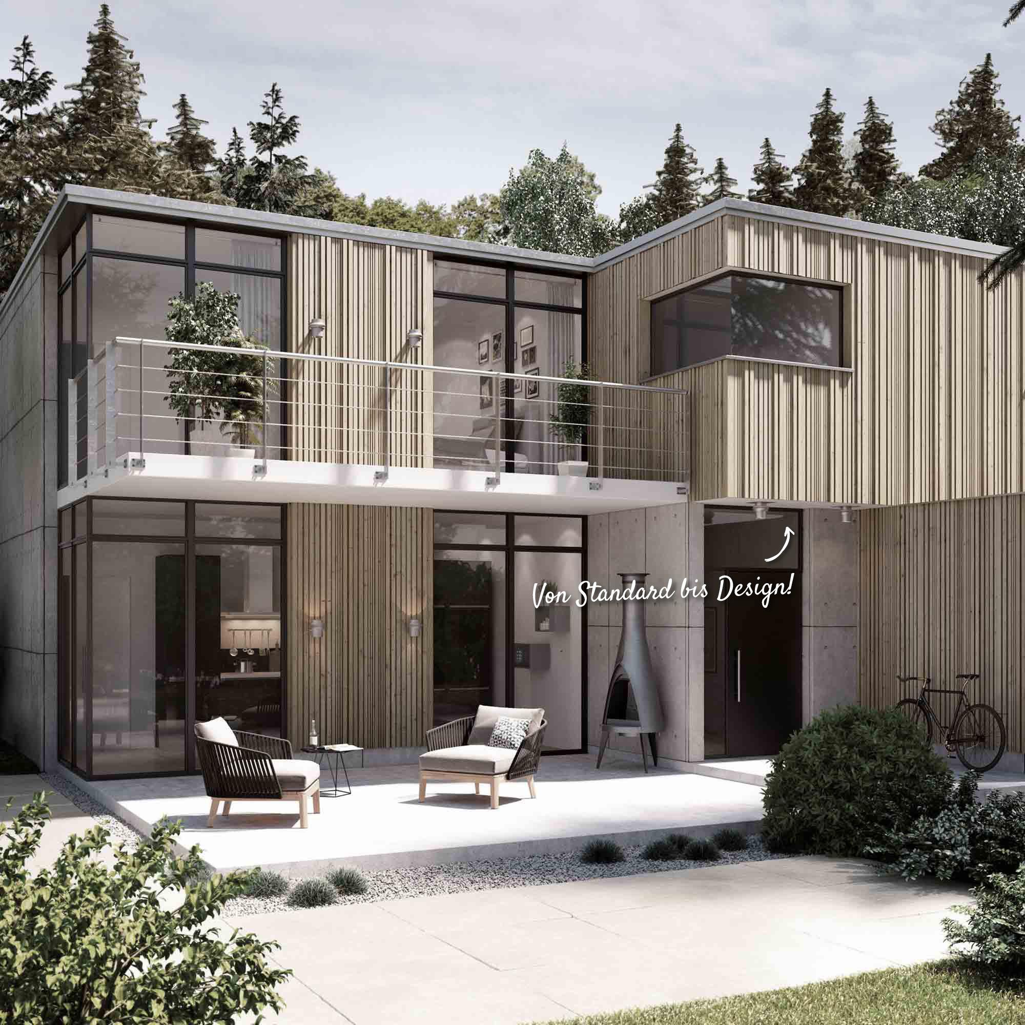 Kunststofffassade – HolzLand Verbeek