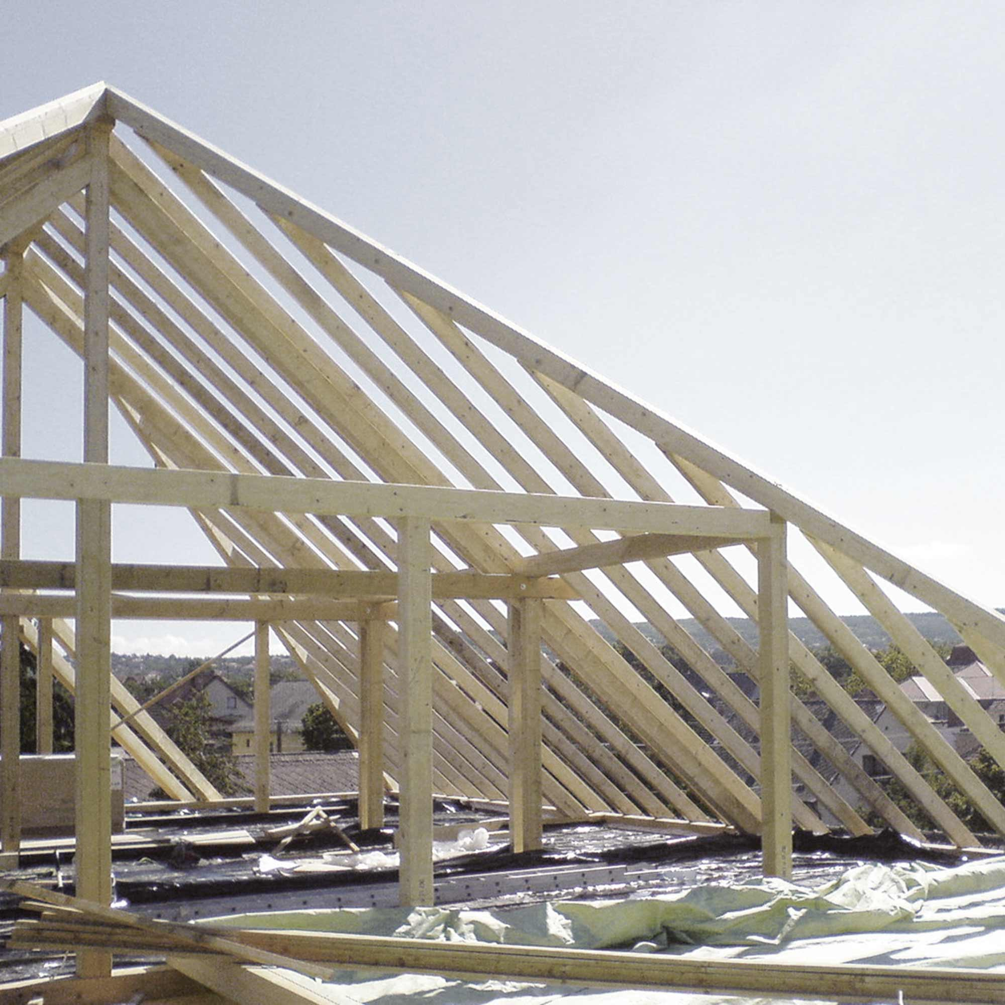 KVH für den Dachstuhl – HolzLand Verbeek