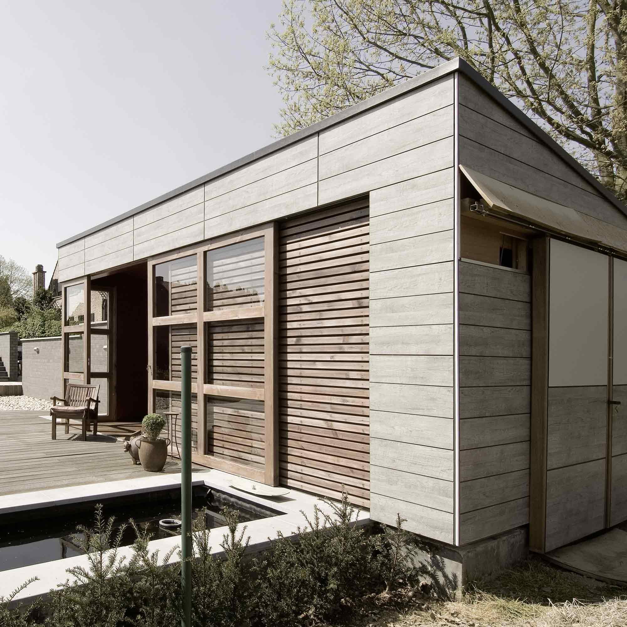 Kunststofffassade im Nordic Style – HolzLand Verbeek