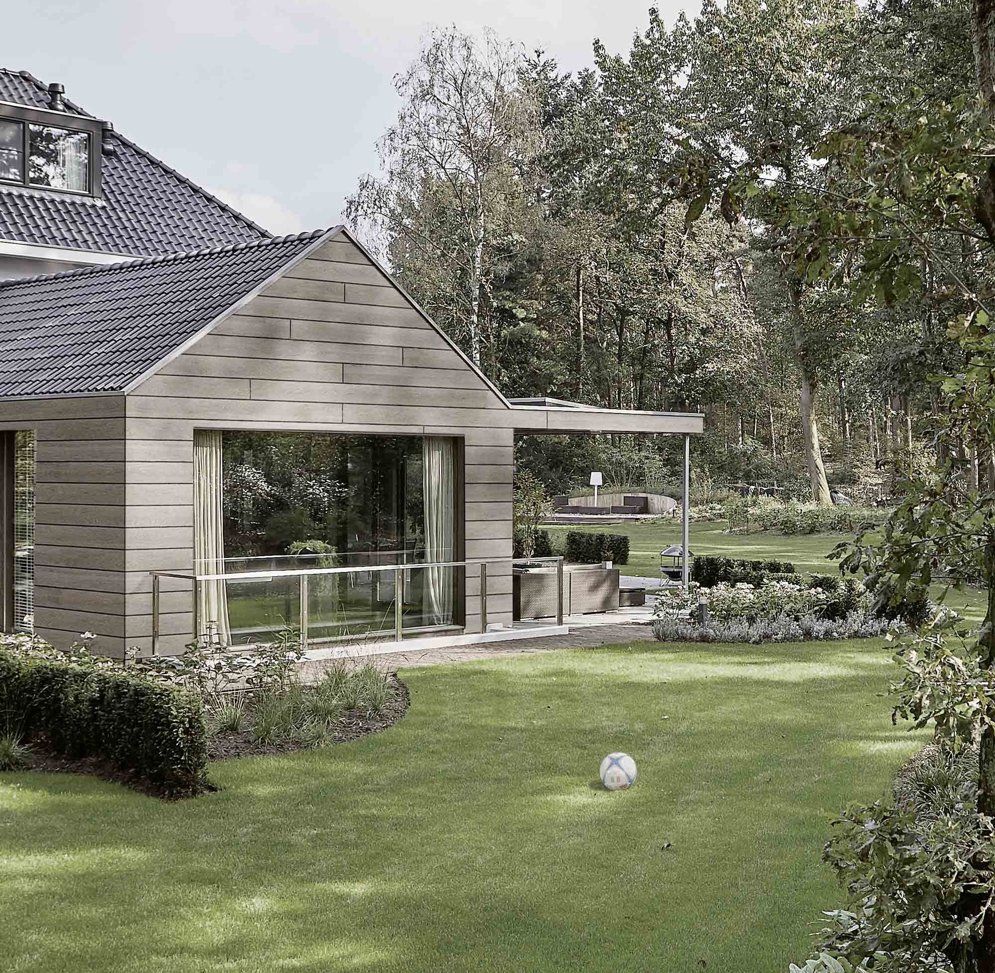 Kunststofffassade im Country Style – HolzLand Verbeek