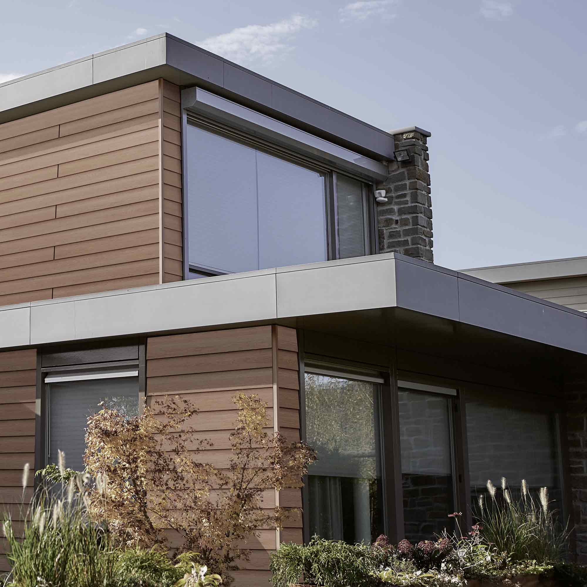 Vielf ltige kunststofffassaden holzland verbeek straelen for Holzland verbeek