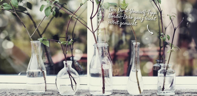 Selbstgemachte Deko im Nordic Style – HolzLand Verbeek