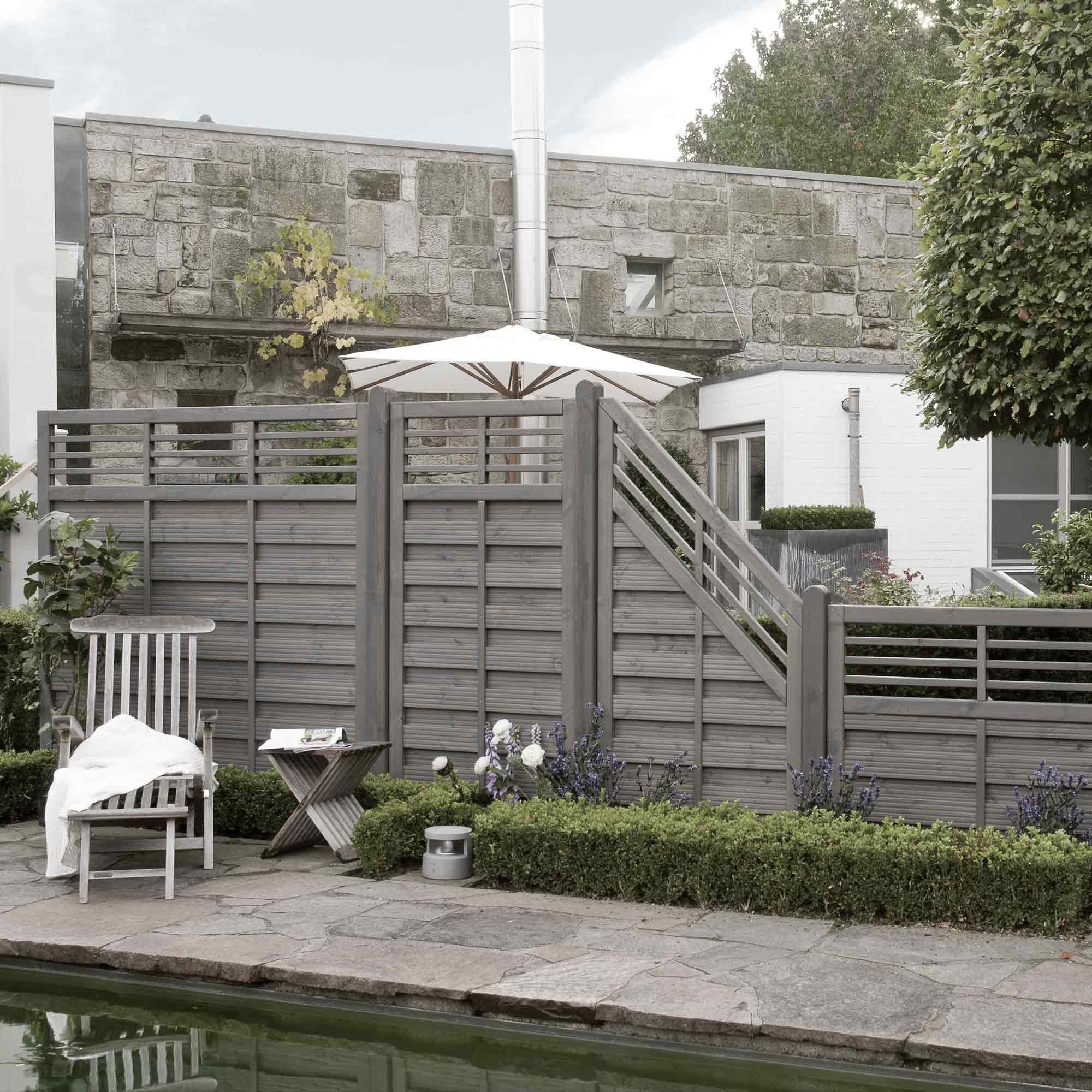 Sichtschutzzäune im Nordic Style – HolzLand Verbeek