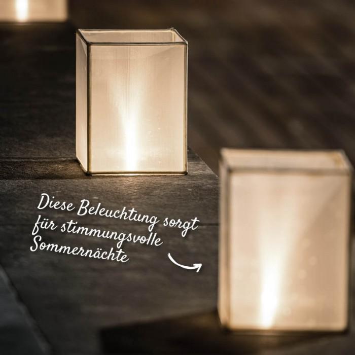 Stimmungsvolle Beleuchtung für die Terrasse – HolzLand Verbeek