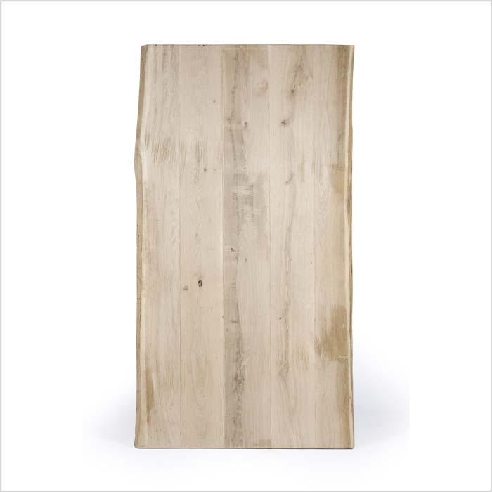 Tischplatte aus hellem Holz von Oben | Holzland Verbeek