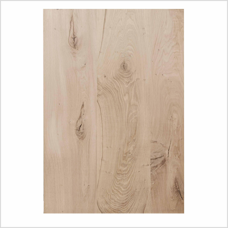 Tischplatte aus hellem Holz mit Maserung | Holzland Verbeek