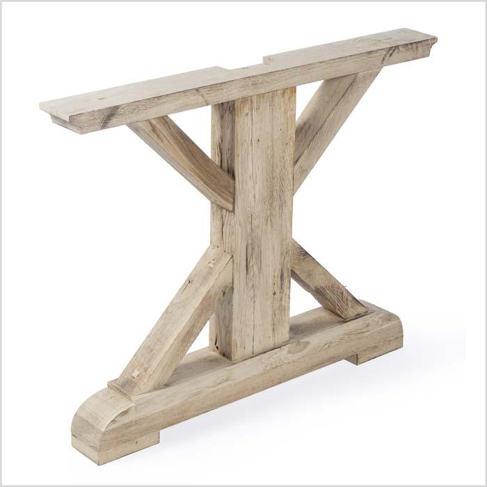 Untergestell aus Holz mit Details | Holzland Verbeek