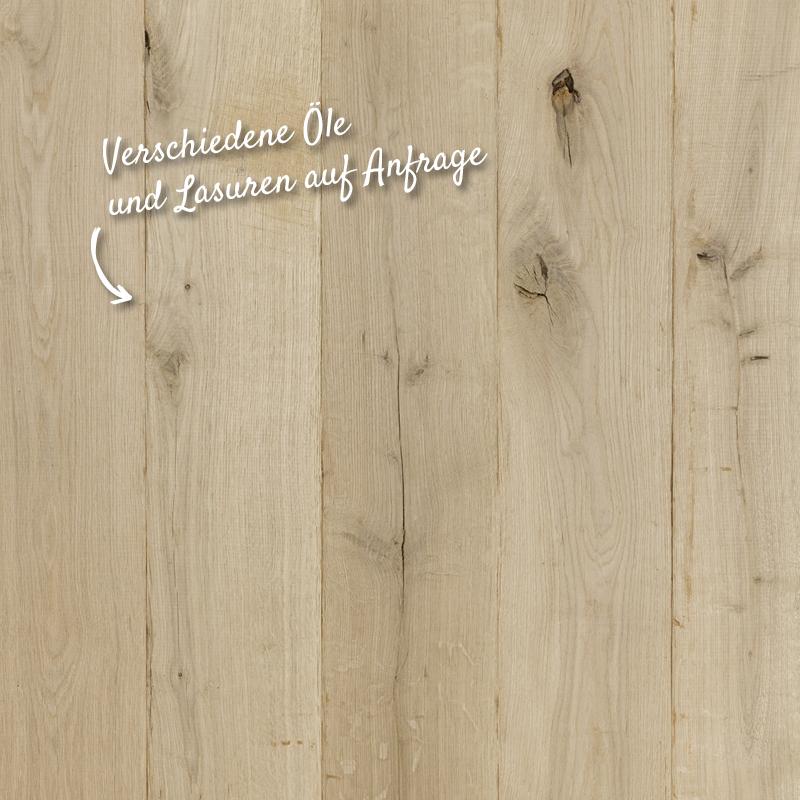 Untergestelle Lasur von hellem Holz | Holzland Verbeek