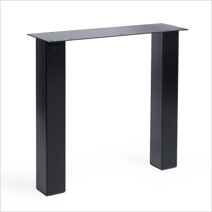 Untergestell aus Metall schwarz | Holzland Verbeek