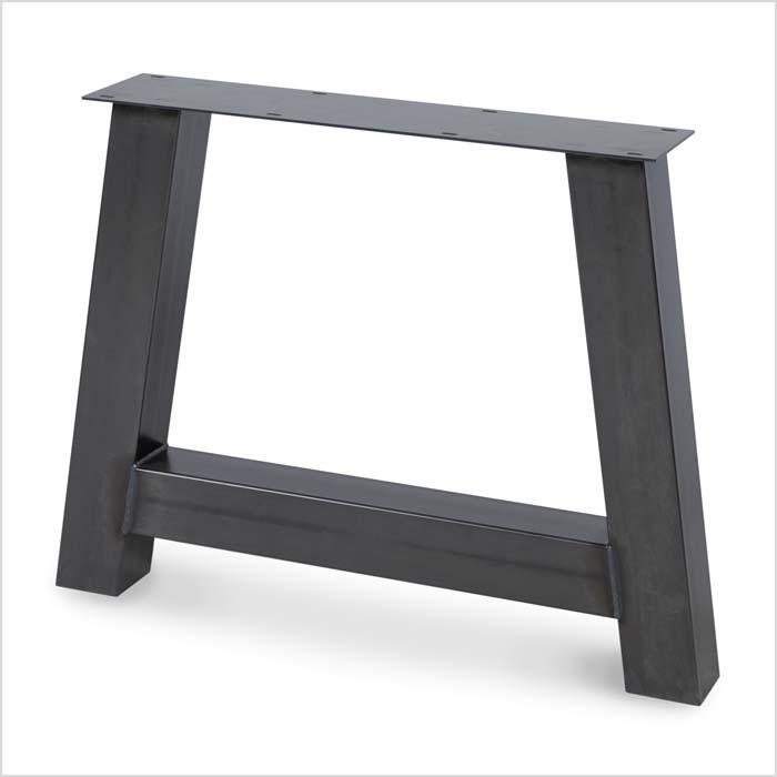 Untergestell aus Metall asymmetrisch mit Balken | Holzland Verbeek