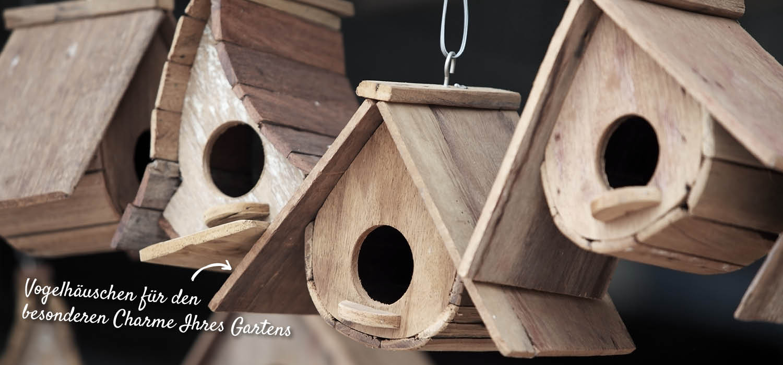 Vogelhäuschen aus Holz – HolzLand Verbeek