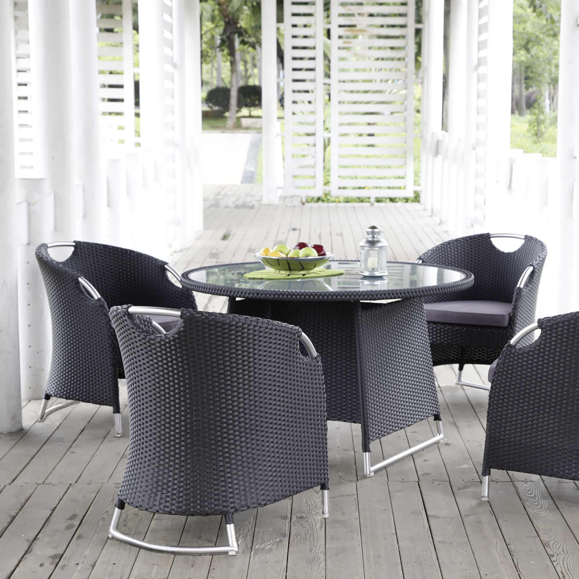 Moderne Gartenmöbel auf Terrasse | Holzland Verbeek