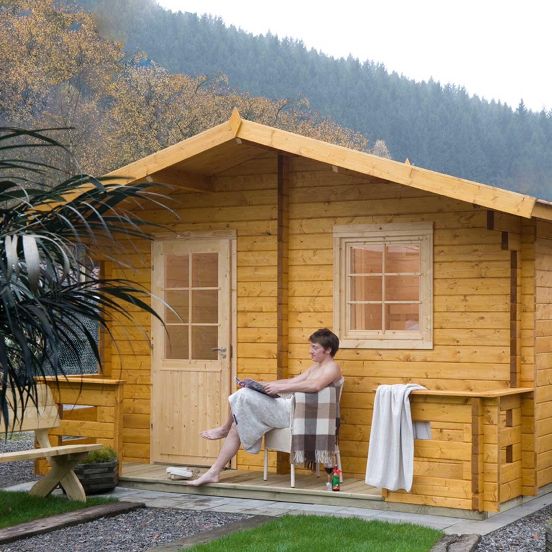 Sauna Finnhaus Cottage | Holzland Verbeek