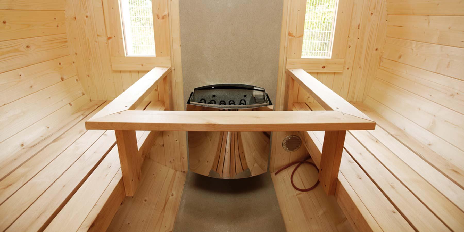 Saunafässer von Innen HolzLand Verbeek in Straelen
