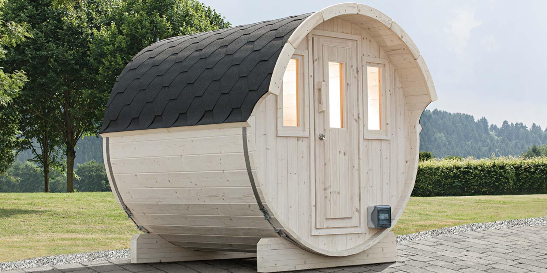 Saunafässer klein HolzLand Verbeek in Straelen