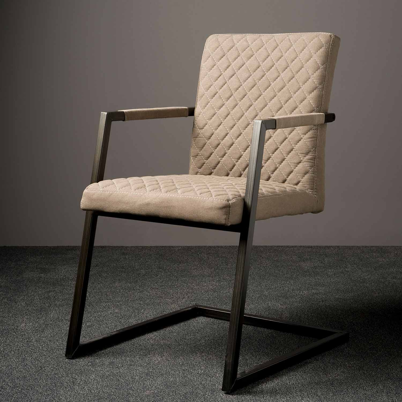Stuhl in Beige | Desert modern | Holzland Verbeek