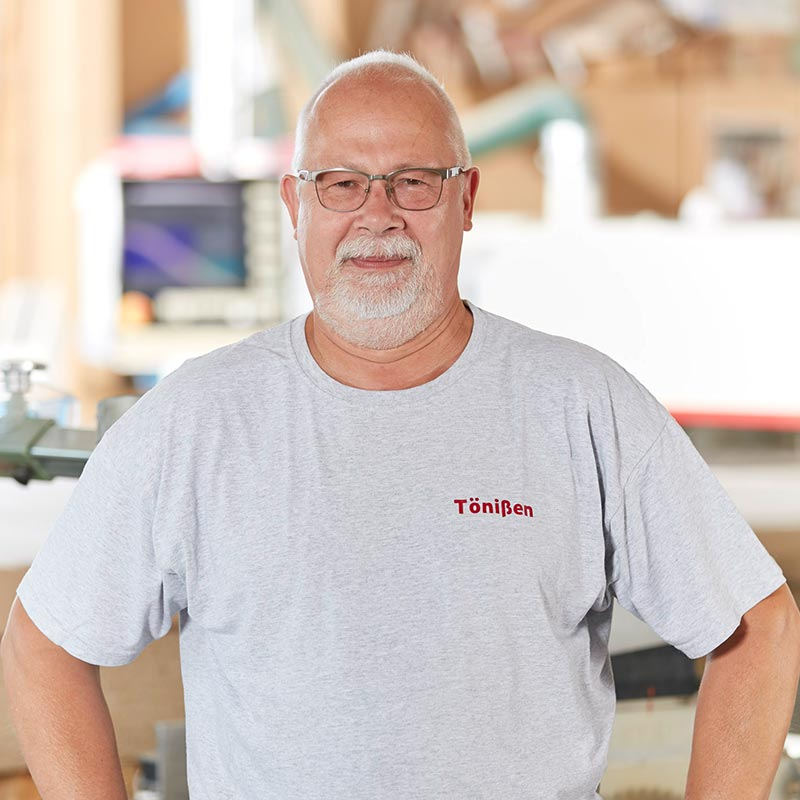 Ansprechpartner Herber Tönißen | Holzland Verbeek