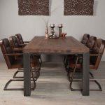 Stühle und Tisch für das Esszimmer dunkelbraun | Holzland Verbeek