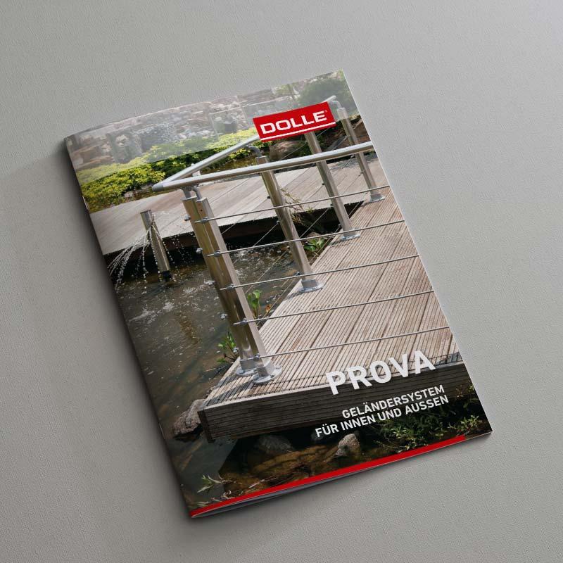 Dolle Treppen Prova Geländersysteme Katalog