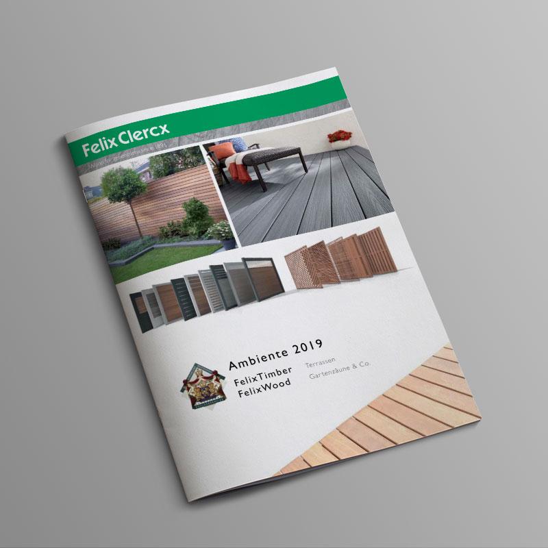 Felix Clercx Ambiente 2018 Katalog