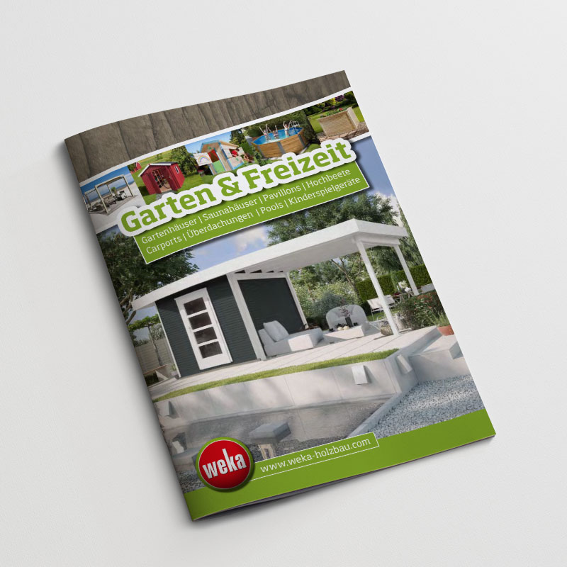 Weka Garten und Freizeit Katalog