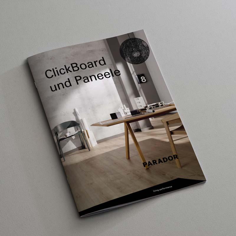 Parador ClickBoard und Paneele Katalog
