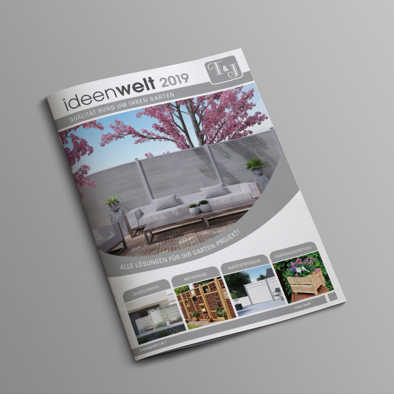 Tetzner und Jentzsch Ideenwelt Qualität rund um Ihren Garten Katalog 2018