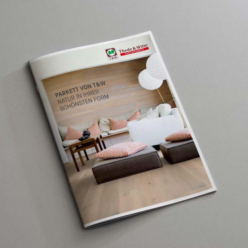 Thede und Witte Parkett Katalog