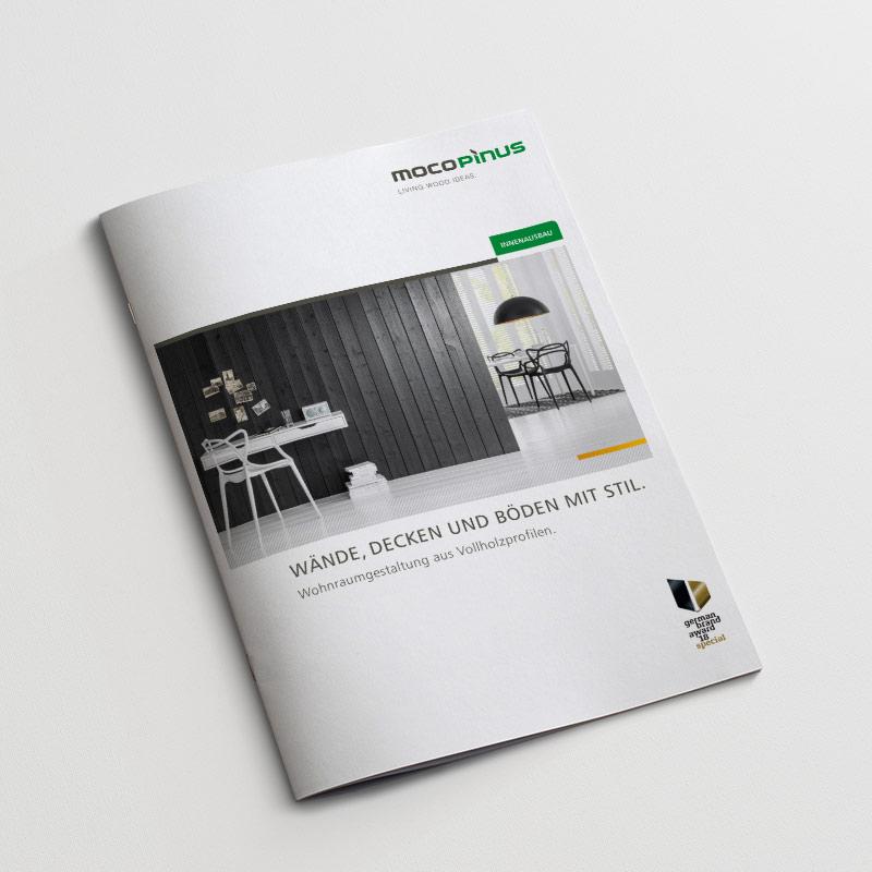 Mocopinus Wände, Decken und Böden mit Stil Katalog