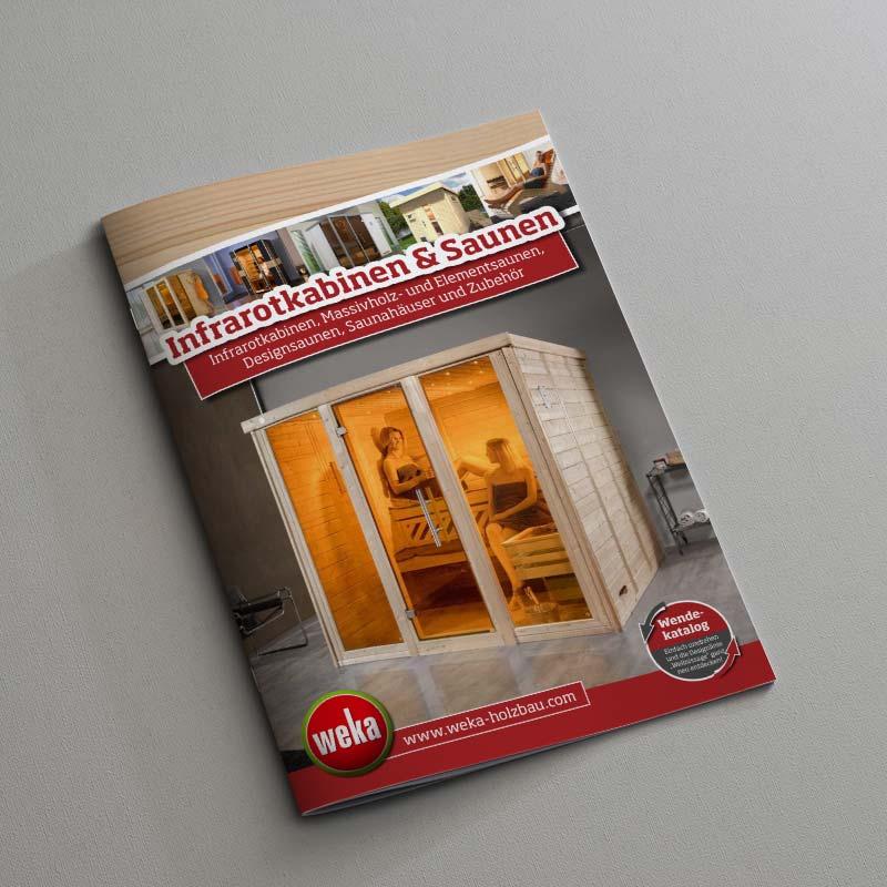 Weka Infrarotkabinen und Saunen Katalog